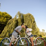a bicycle inspired engagement session at vanier park by vancouver wedding photographers www.lovetreephotography.ca
