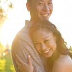 golden hour engagement session at spanish banks by vancouver wedding photographers www.lovetreephotography.ca