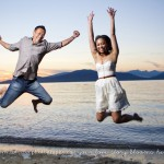 sunset engagement session at spanish banks by vancouver wedding photographers www.lovetreephotography.ca
