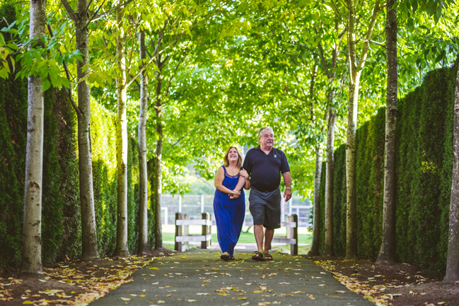 mature couple engagement session