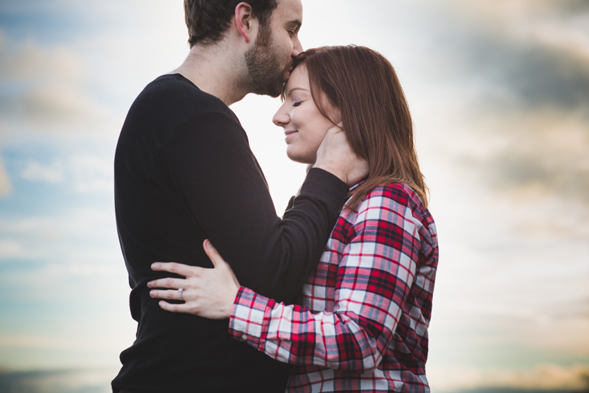 vancouver winter beach engagement session 03