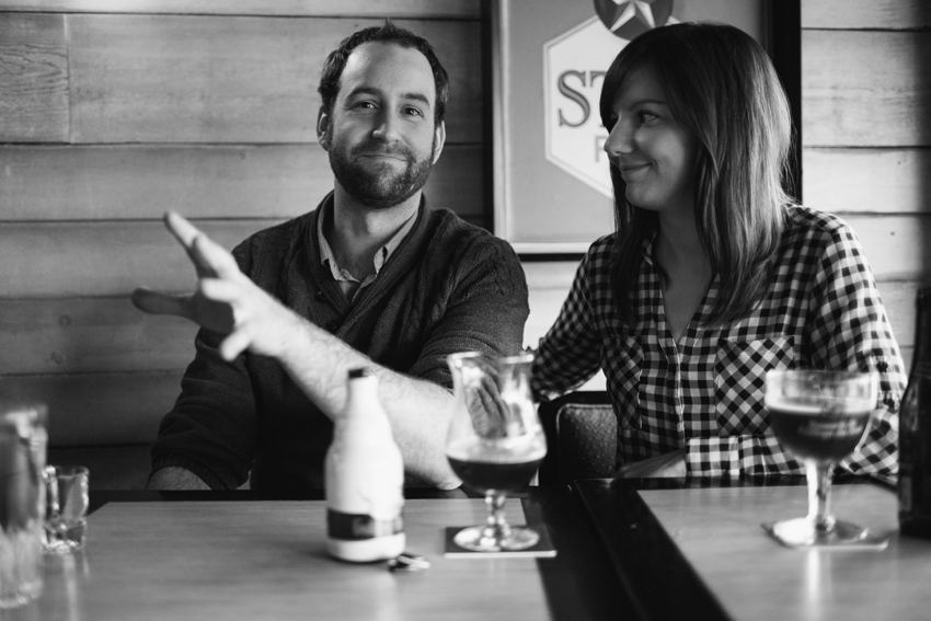 pub engagement session in vancouver