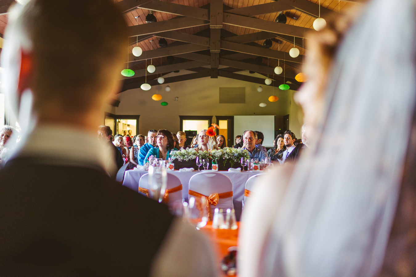wedding reception in new west