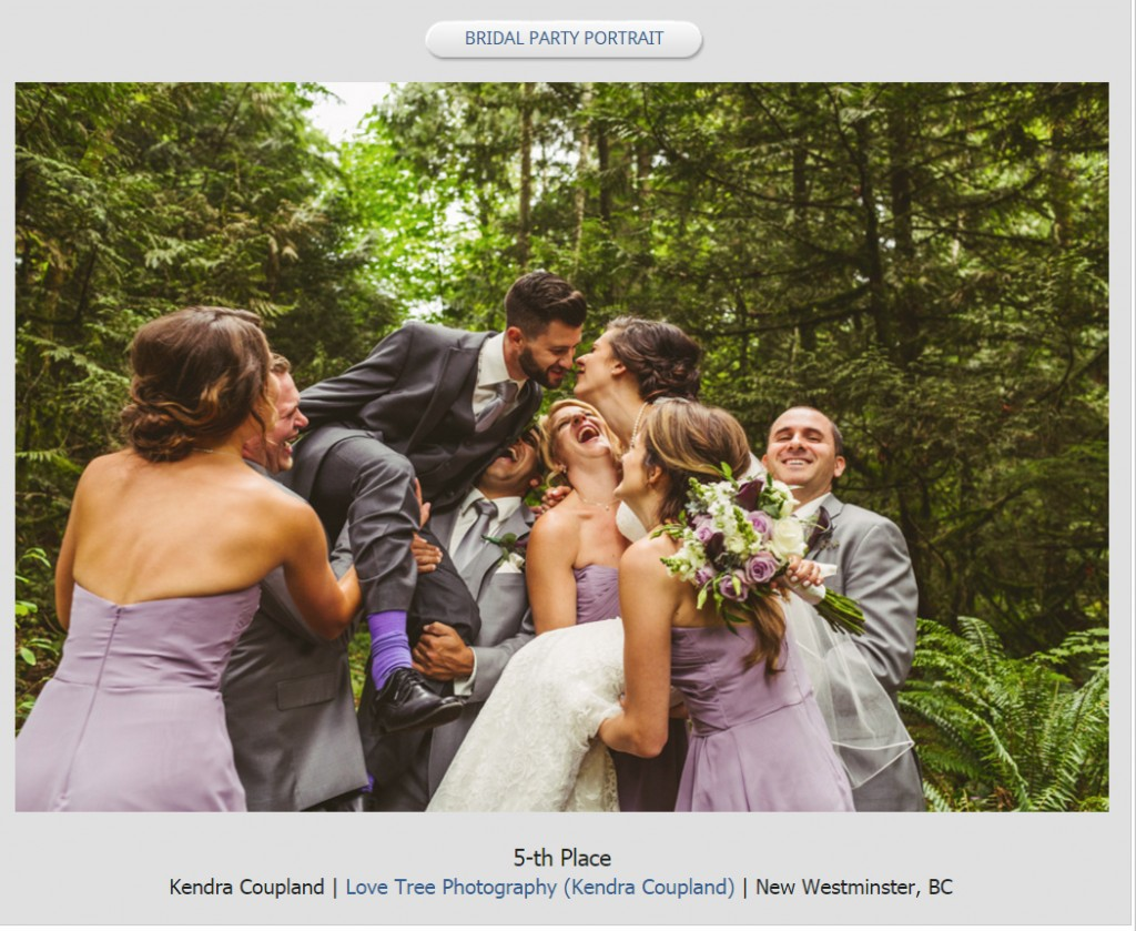 best portrait of a wedding party