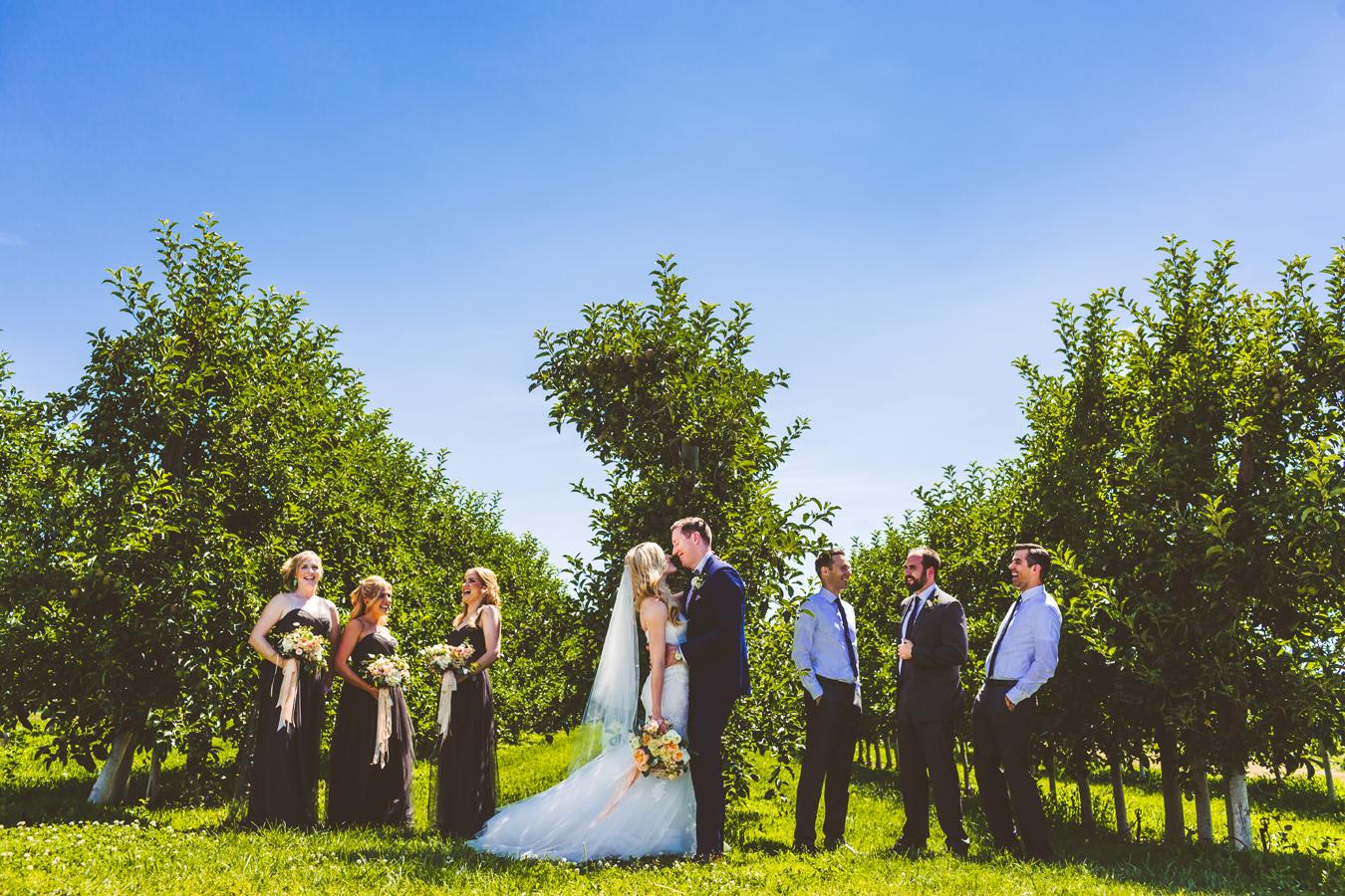 orchard wedding kelowna