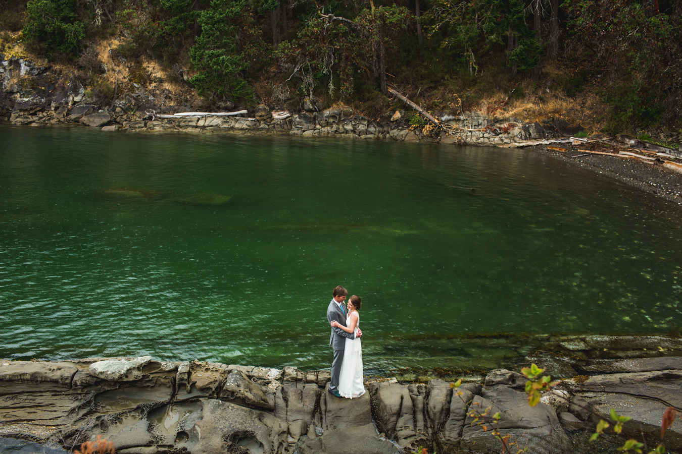 private estate wedding on salt spring island