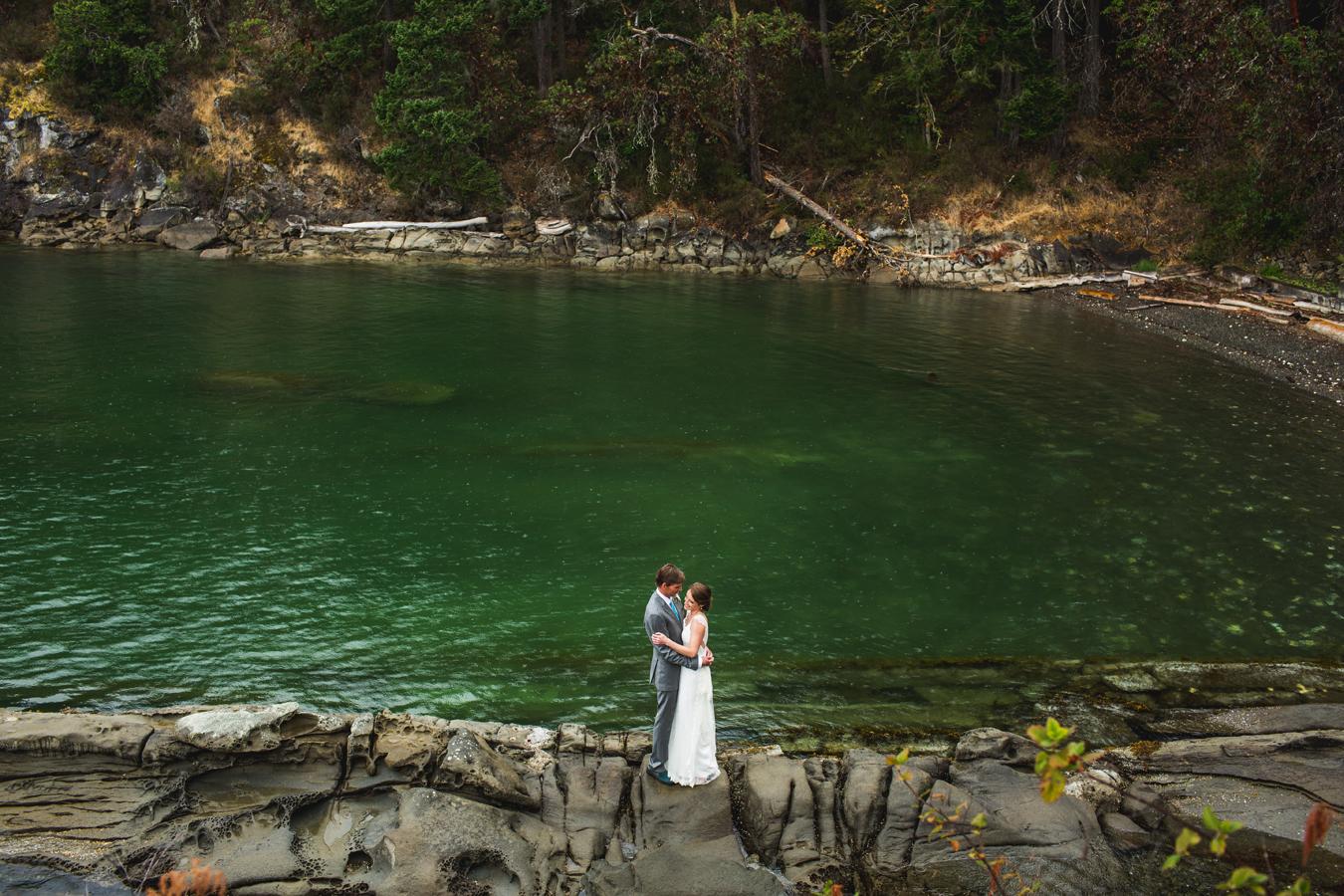 private estate wedding on salt spring island