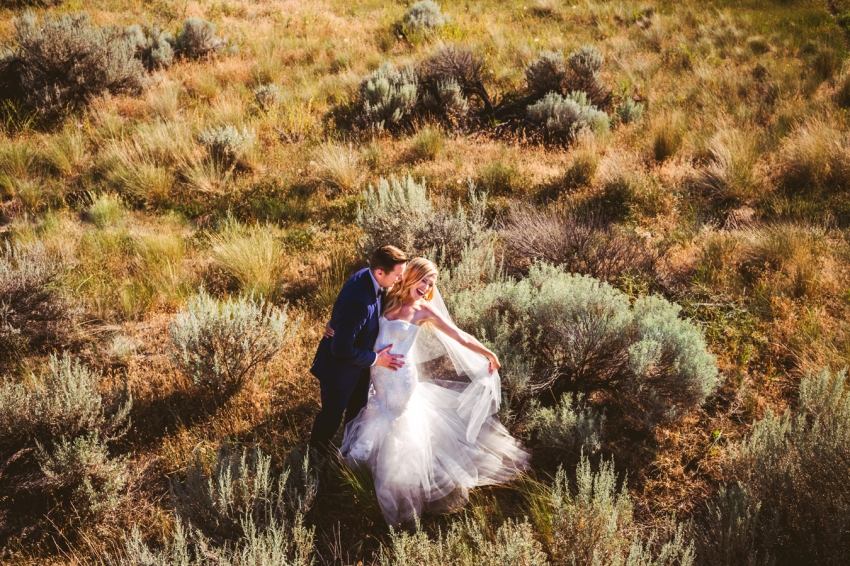 kelowna wedding at Knox Mountain