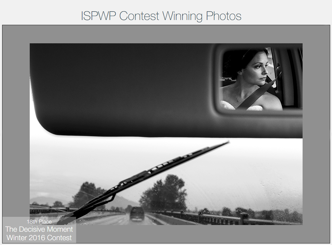ISPWP award winning wedding photographer