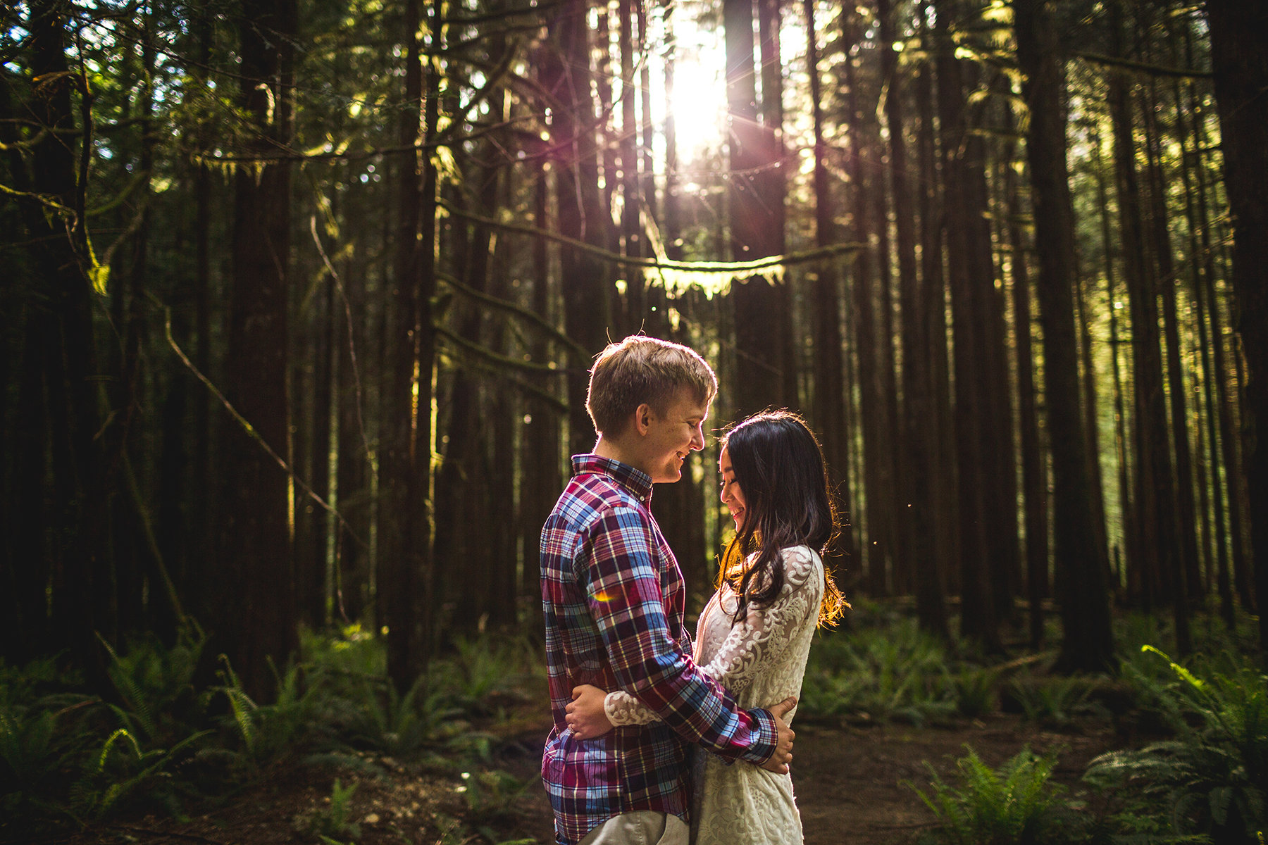 best outdoor locations for engagement sessions in the Vancouver area