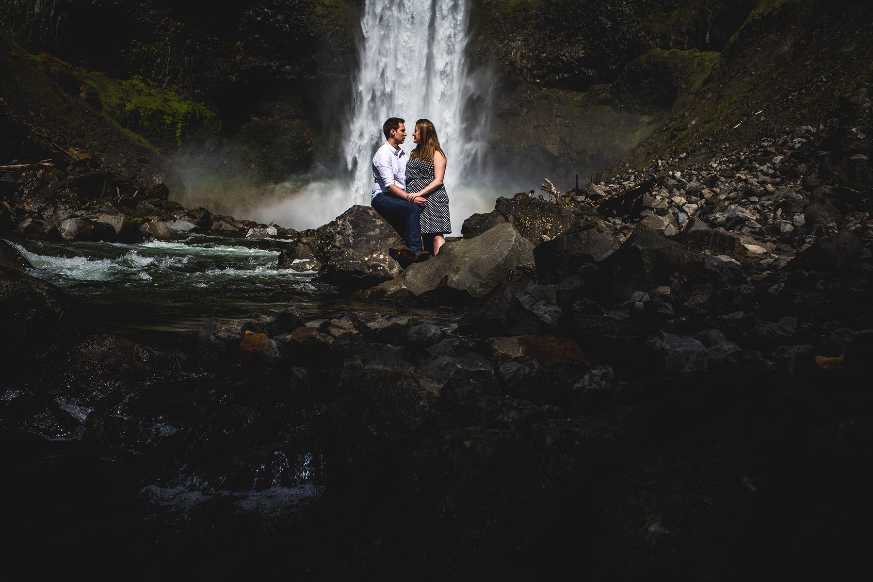 whistler engagement session