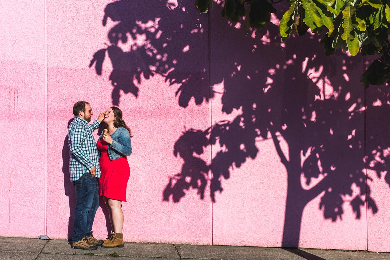 vancouver engagement portraits