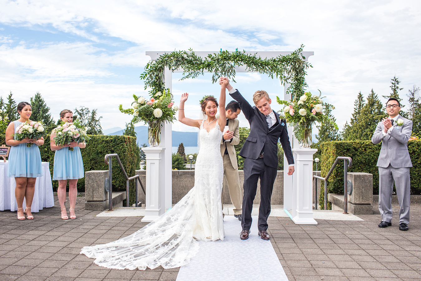 UBC Rose Garden Weddings