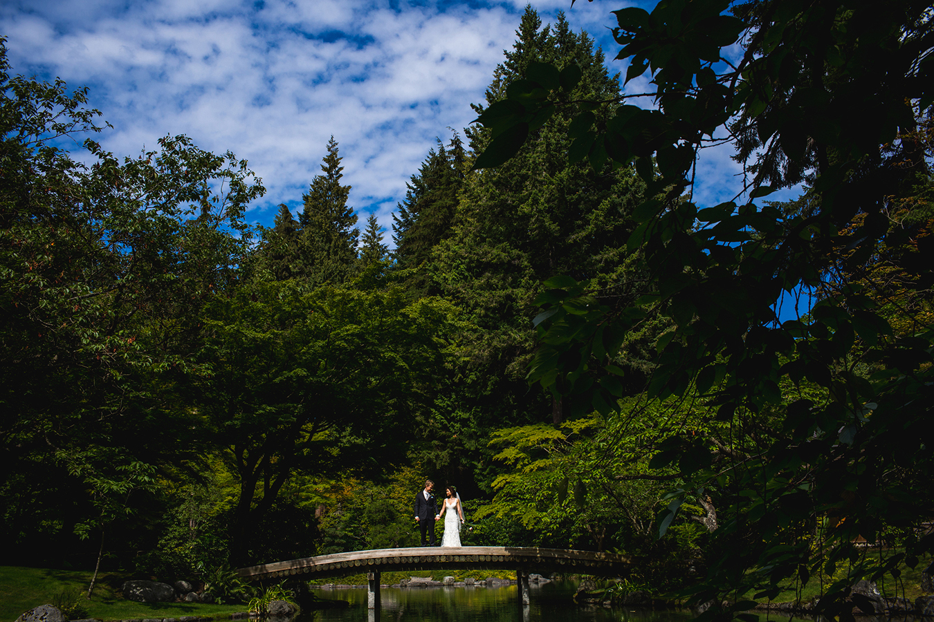 Nitobe Japanese Memorial Garden Wedding