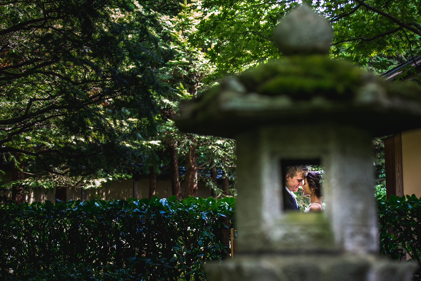 Nitobe Gardens Wedding