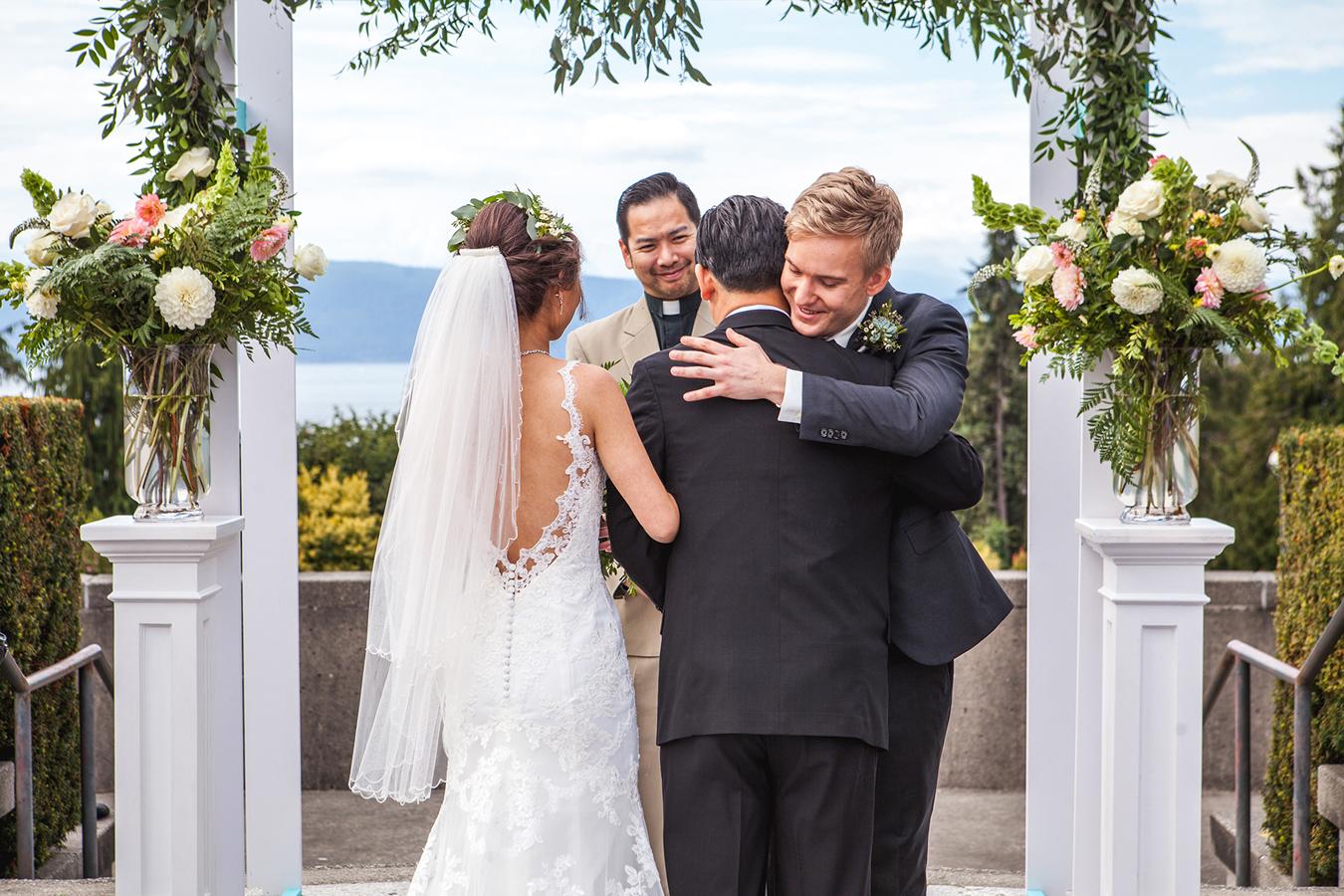 UBC Rose Garden Vancouver Wedding