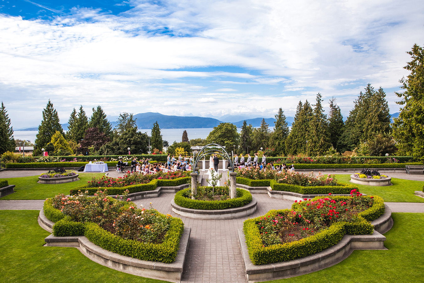 UBC Rose Garden Wedding