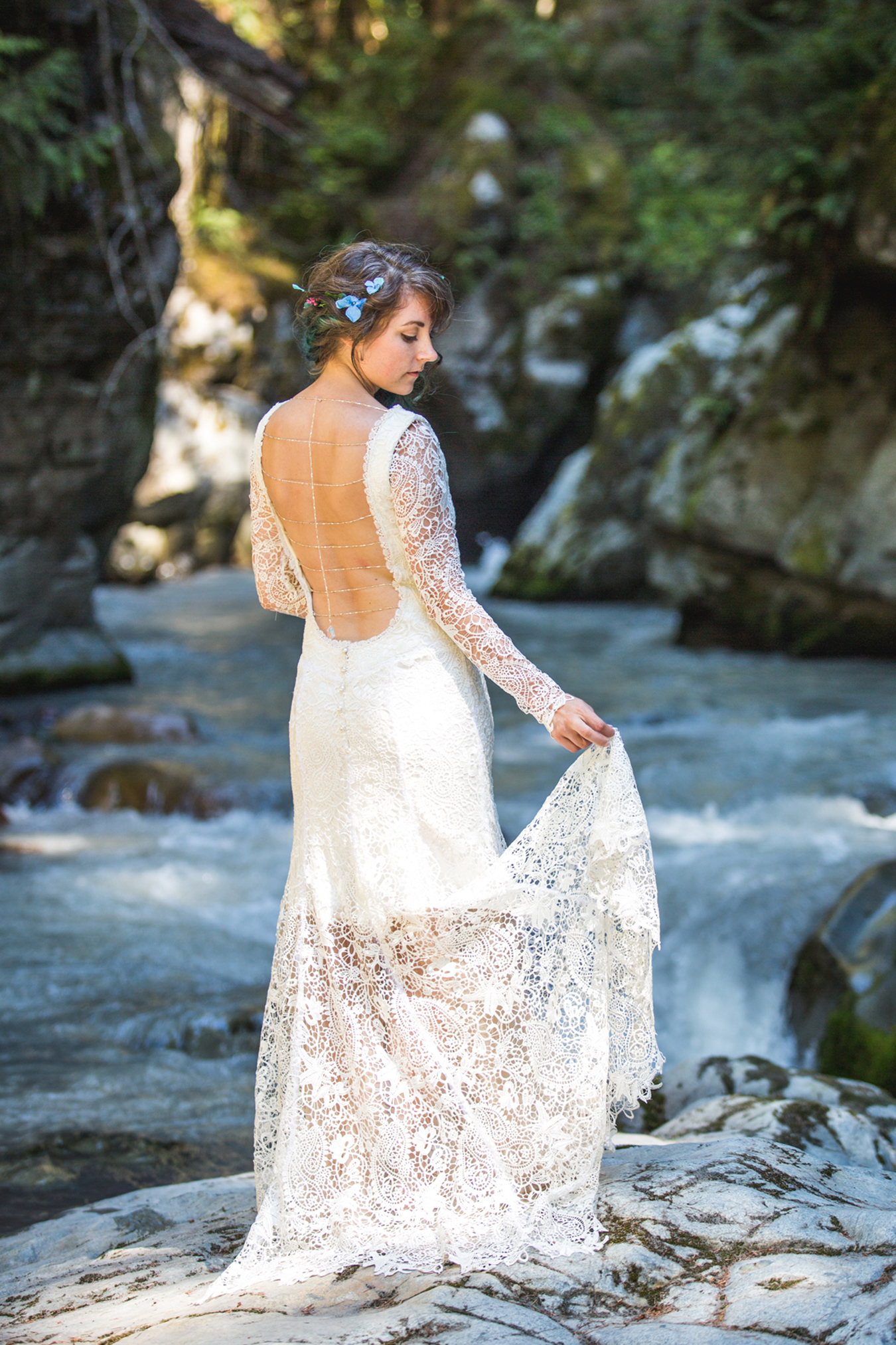 bohemian wedding in Squamish BC