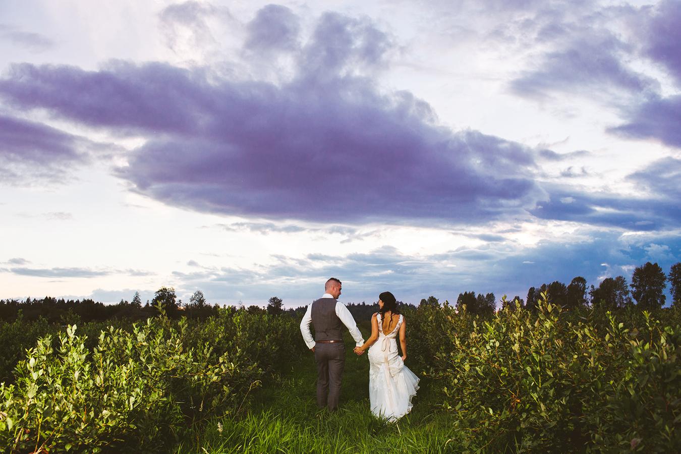 Farm weddings in BC