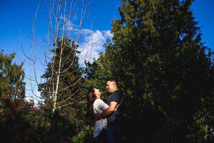 pre-wedding photos at granville island