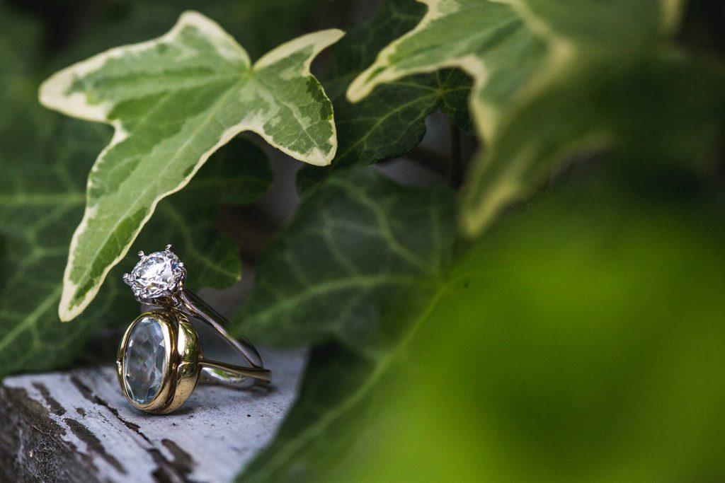 Family heirloom engagement ring