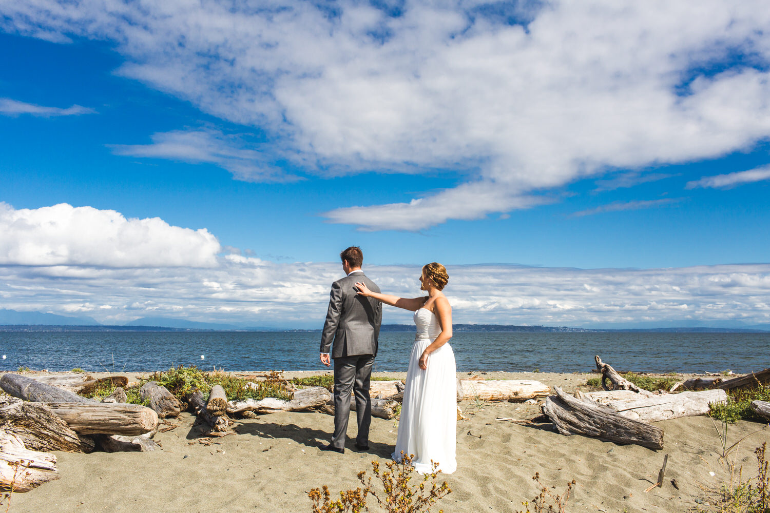 first look on the beach in ladner bc