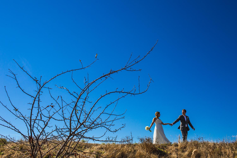 Centennial Beach wedding portrait