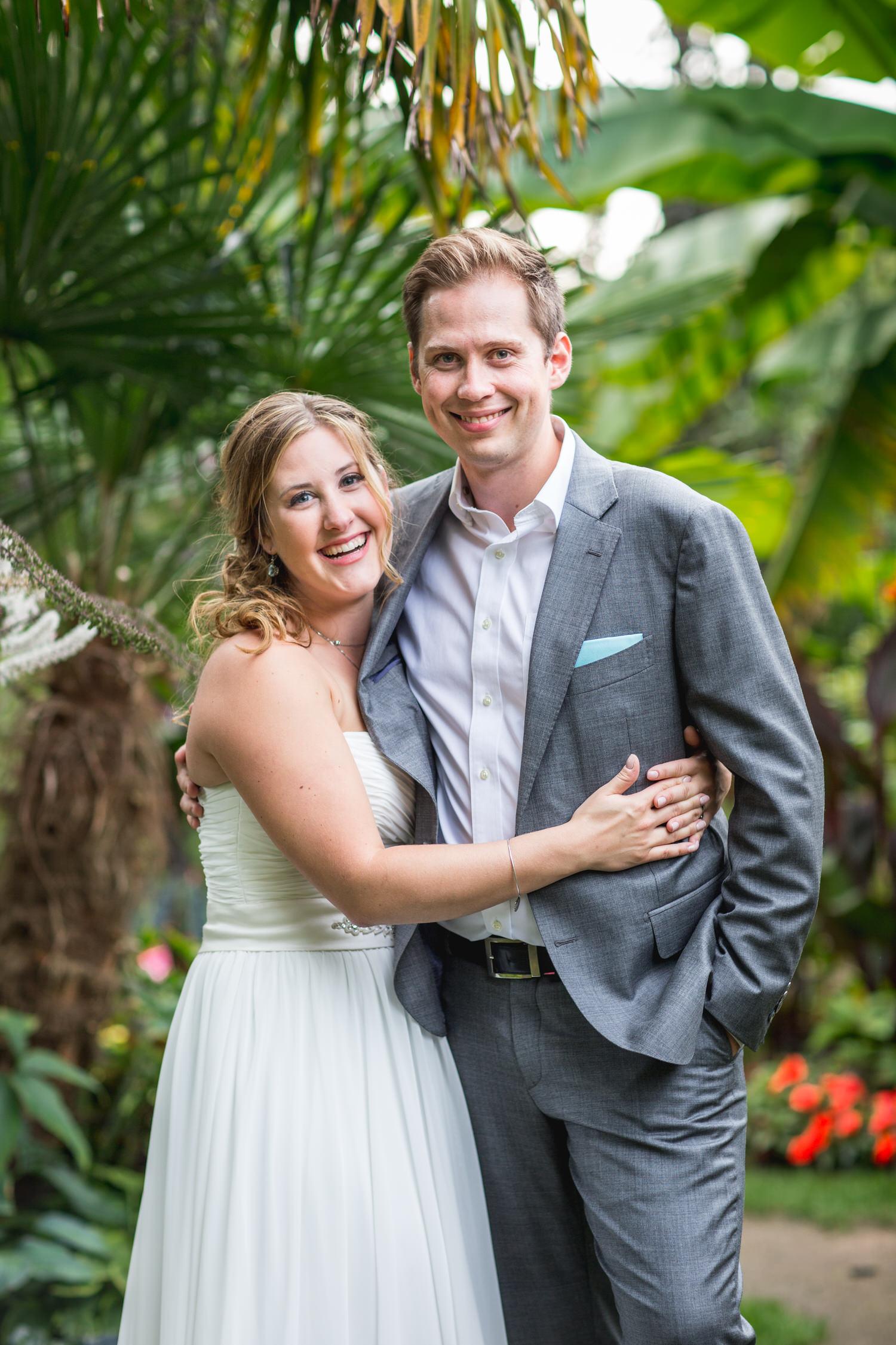 Bridal portraits at Centennial Beach