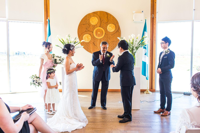 UBC Musqueam Cultural Centre Wedding