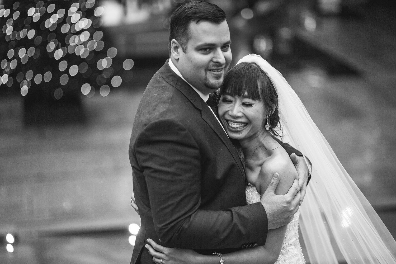 Robson Square Wedding Portraits