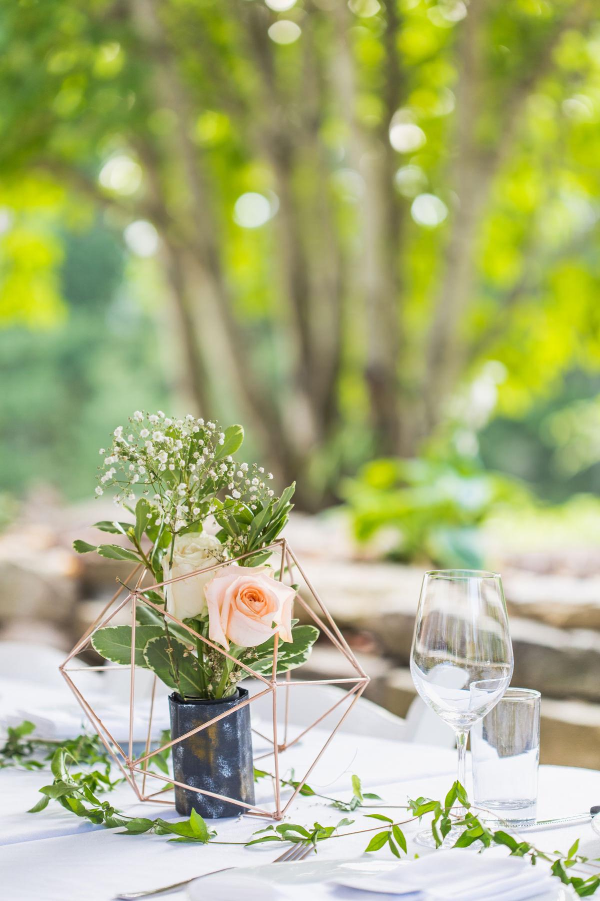 Wedding set up at Bodega Ridge