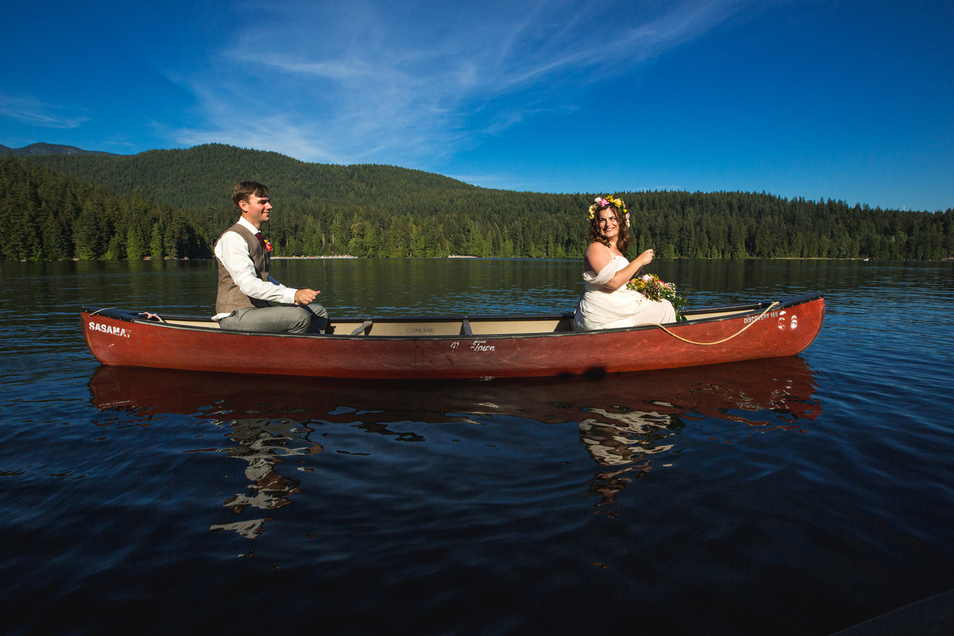 Sasamat Outdoor Centre wedding