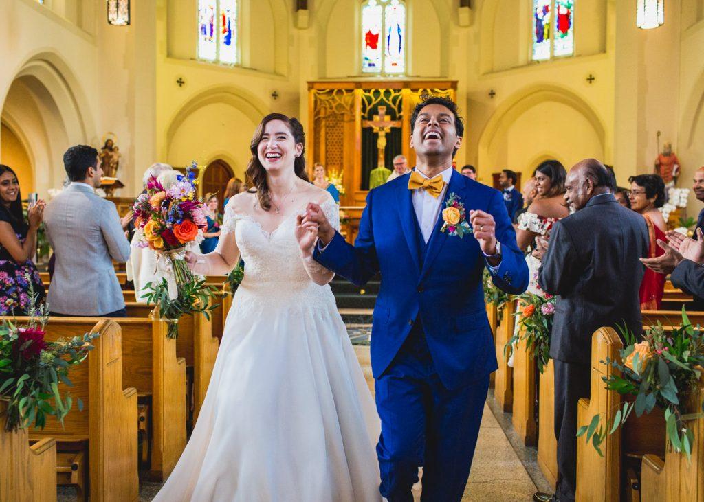 Beautiful Scenes From Christian Weddings